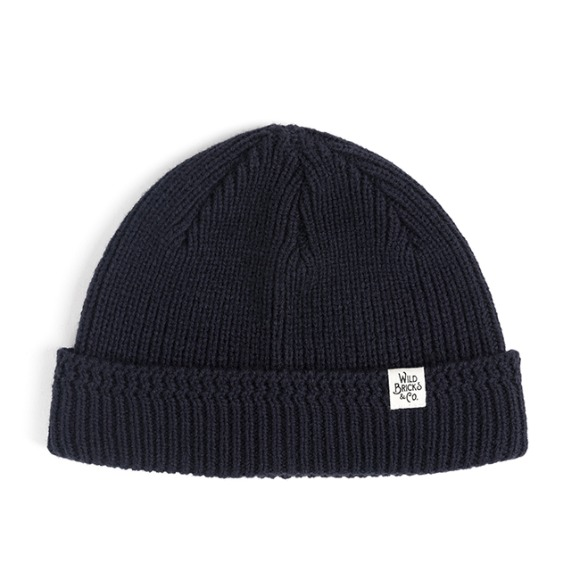 MILITARY KNIT WATCH CAP (navy)