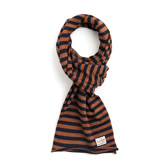 ST COTTON MUFFLER (orange)