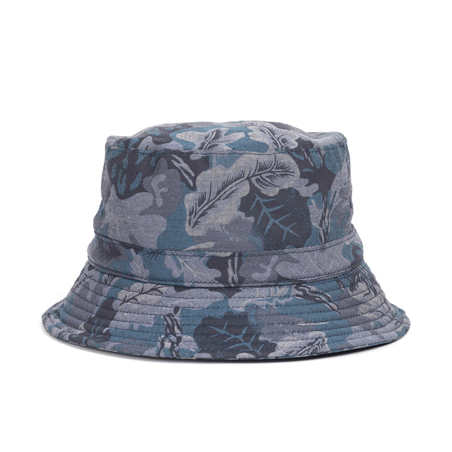 CAMO BUCKET HAT (navy)