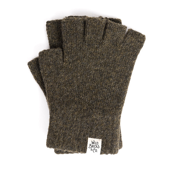 FINGERLESS GLOVES (khaki)