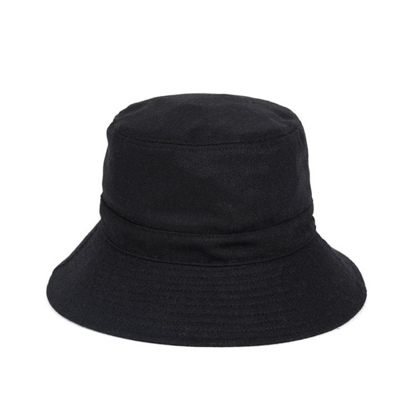 BS WOOL BUCKET HAT (black)