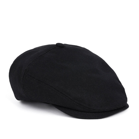 BS WOOL HUNTING CAP (black)