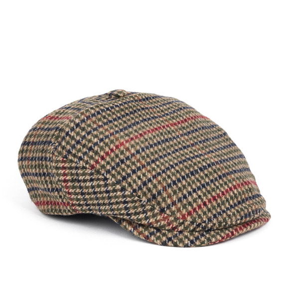 OB HOUND TOOTH HUNTING CAP (beige)