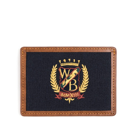 WB CARD CASE (brown)