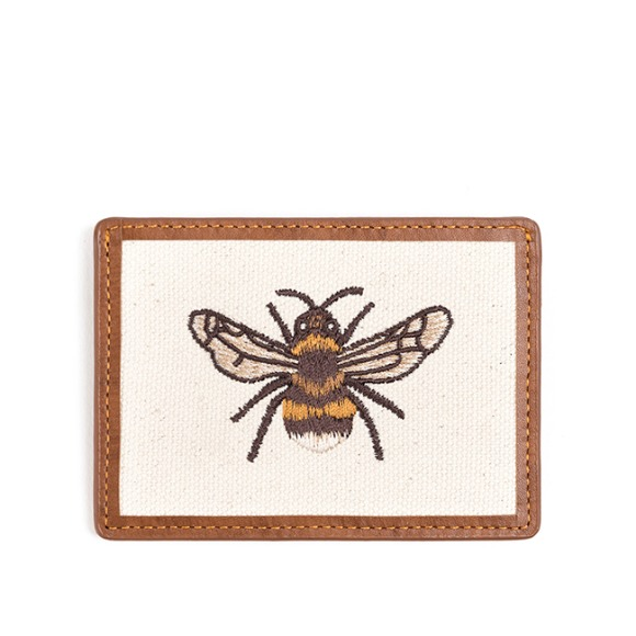 HONEYBEE CARD CASE (brown)