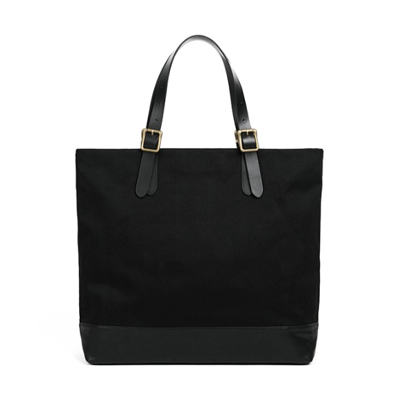 CONVERTIBLE TOTE BAG (black)