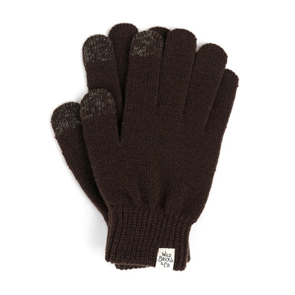 AW BASIC TOUCH GLOVES (brown)