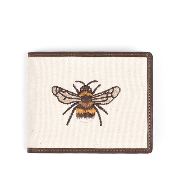 HONEYBEE WALLET (dark brown)