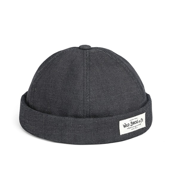 SELVEDGE DENIM BRIMLESS CAP (denim)