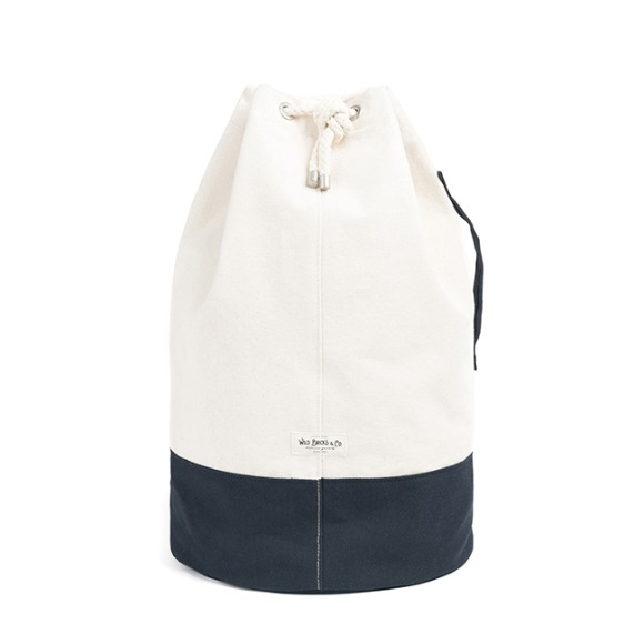 CANVAS DUFFLE BAG (navy)