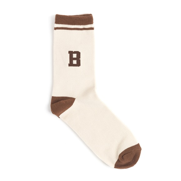 WB TENNIS SOCKS (brown)