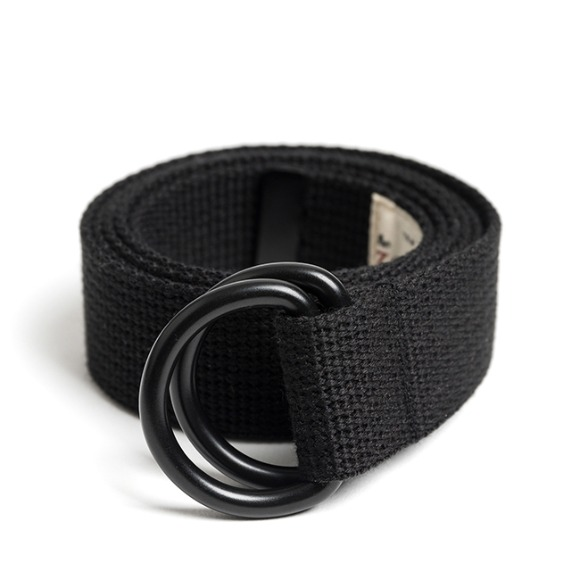 BK D-RING BELT (black)