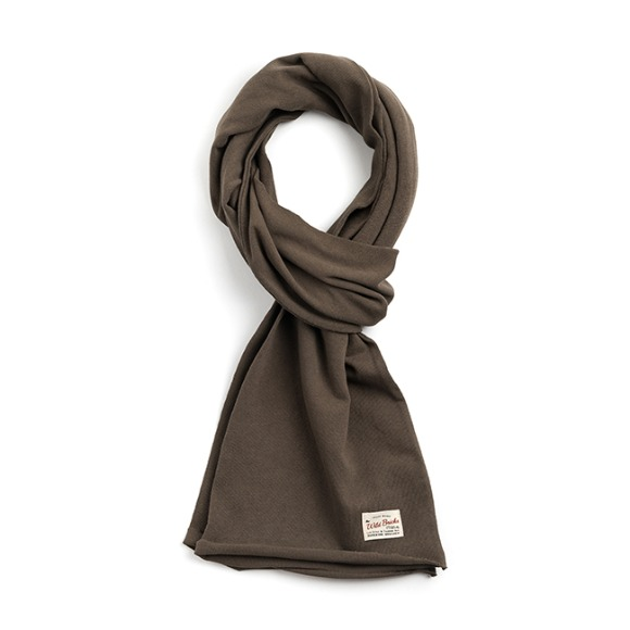 BS COTTON MUFFLER (khaki)