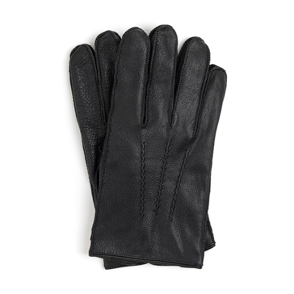 OV GOATSKIN LEATHER GLOVES (black)