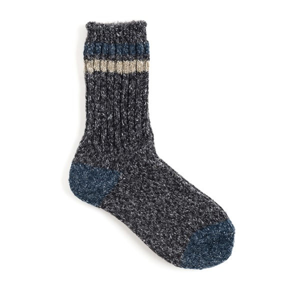 AP MELANGE SOCKS (charcoal)
