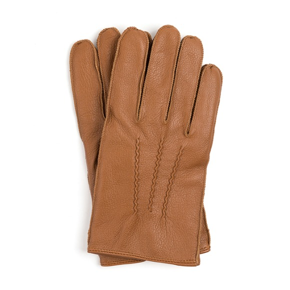 OV GOATSKIN LEATHER GLOVES (brown)