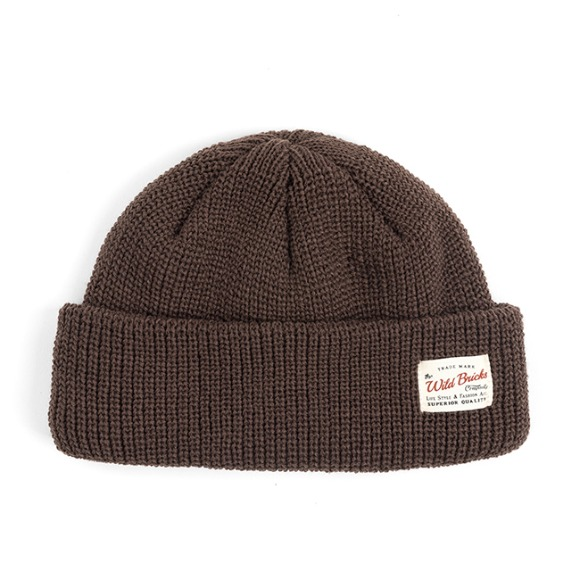 HEAVY WEIGHT MARINE WATCH CAP (brown)